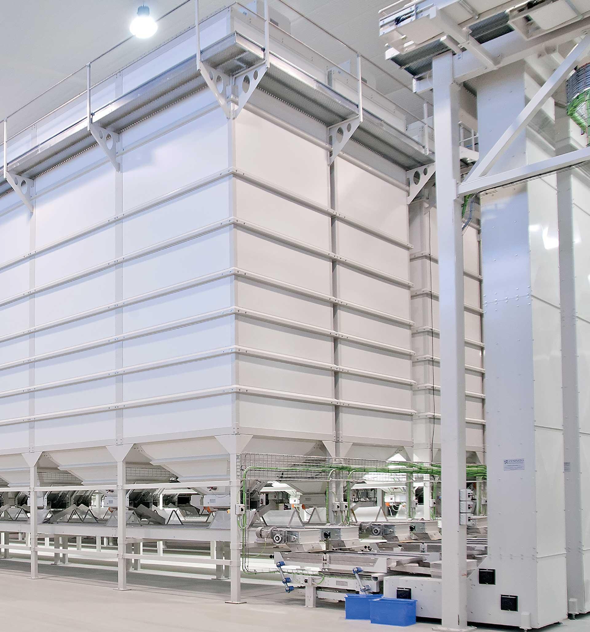 Impianti di Stoccaggio per Prodotti Fragili | Impianti per il Trasporto e lo Stoccaggio - foto1